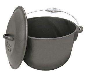 Amazon.com : Bayou Classic 7406, 6-Qt. Cast Iron Soup Pot