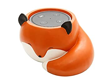 Cute Fox Holder Round Dot Speakers, 2nd and 1st Generation, Jam Classic Speaker Stand Holder Accessories