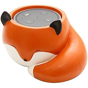 Amazon Com Cute Fox Holder Stand Mount For Alexa Echo Dot