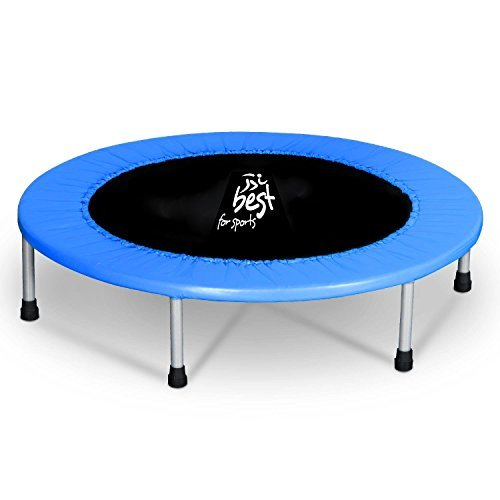 Best For Sports Trampolin mit TÜV Intertek und GS Zertifikat 96 cm Indoortrampoline bis 120 kg