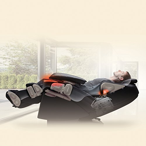 Panasonic EP-MA73KU Real Pro Ultra Prestige 3D Luxury Heated Massage Chair, Black