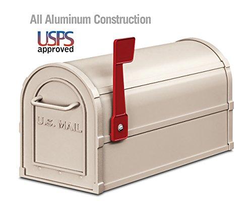 ポストマウントメールボックスカラー:ベージュ   B011M99WSS