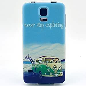 YULIN The Sea Animal Pattern Soft Case for Sumsang Galaxy S5Mini