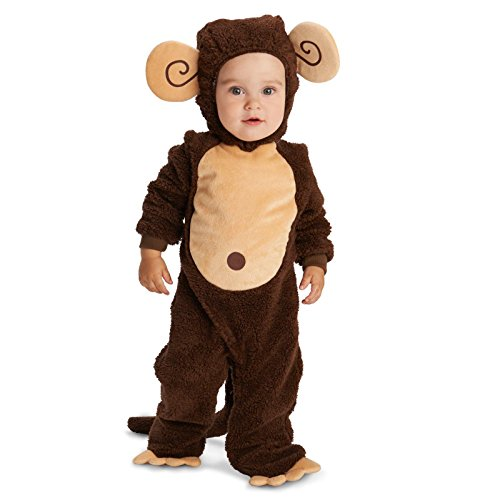 Loveable Monkey Infant Dress Up Costume 12-18M ()