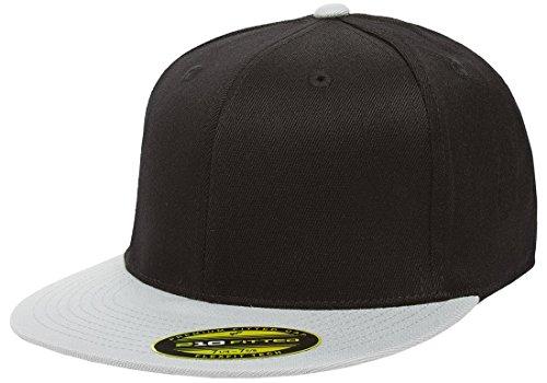 Flexfit Premium 210 Fitted Flat Brim Baseball Hat w/THP No Sweat Headliner Bundle Pack