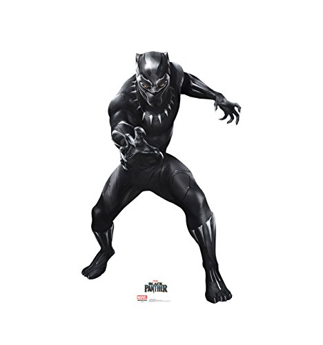 (T'Challa / Black Panther - Black Panther (2018 Film) - Advanced Graphics Life Size Cardboard Cutout)