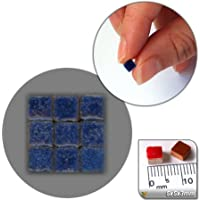 mosaico de Minis (5x 5x 3mm), 500unidades, azul
