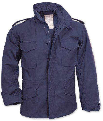 Amazon.com  Navy Blue Military M-65 Field Jacket 8527 Size Large ... 0d5057ddfc
