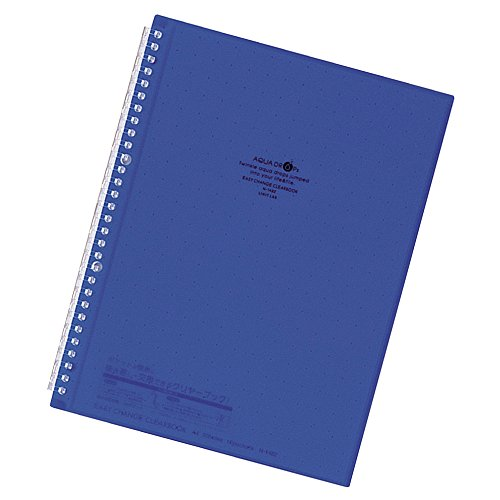 Lihit Lab., Inc. Easy change clear book N1482-11 indigo