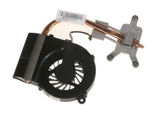 New CPU Cooling Fan with Heatsink for HP Compaq Pavilion G42 G62 Presario CQ42 CQ62 p/n:606609-001 3MAX2TATPD0 3MAX7TATP40 (for laptops with AMD processors, 3-wire connector) -