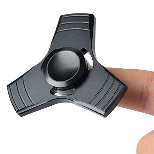 fidget-spinner-lightbiz-noiseless-metal-hand-tri-spinners-high-speed-1-5-min-spins-black