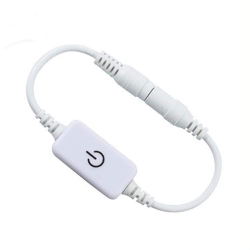 IKSACE Mini Touch Dimmer Monochrome Controller 5V White IKSLED 24V for LED Strip Light