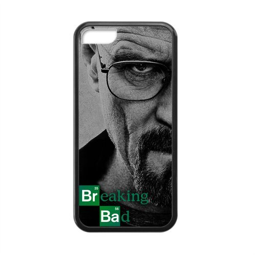 Breaking Bad Chemistry Walter White Slim One Piece Soft Rubber Durable Case Cover for iPhone 5C(Laser (Bad Owl Costume)