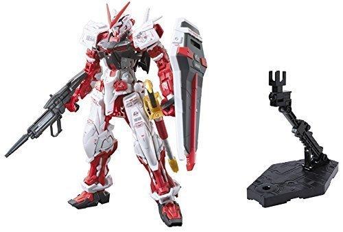 バンダイHobby 1 / 144 RG Gundam Astrayレッドフレームアクションフィギュア& Bandai HobbyアクションBase 2ディスプレイStand ( 1 / 144スケール)、ブラック – 2パックセット B014IAJOE0