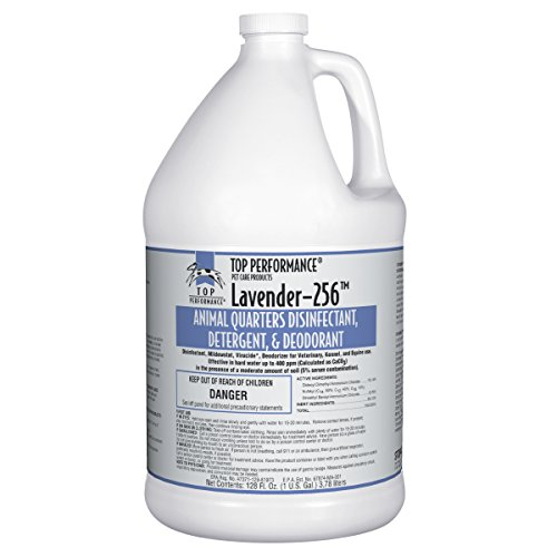 Top Performance 256 Disinfectant and Deodorizer, Lavender, 1-Gallon