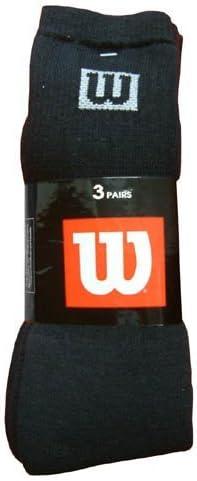 3er-Pack Logo Wilson Socken Rundhalsausschnitt