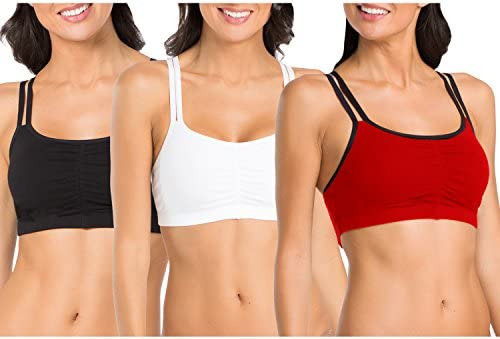 4a54582c2f0b3 Fruit of the Loom Women s Cotton Pullover Sport Bra