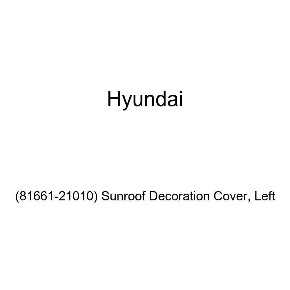 Left Sunroof Decoration Cover 81661-21010 Genuine Hyundai