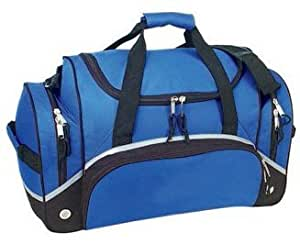 Simple Compact Gym Sport Duffel Bag- Blue