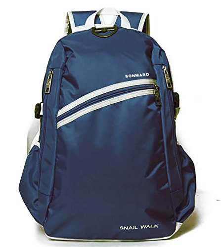 Bonmaro B Snail Walk Navy Classic College/School Backpack