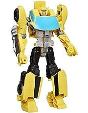 Transformers Toys Heroic Bumblebee Action Figure, Tijdloos grootschalig figuur, verandert in gele speelgoedauto, speelgoed voor kinderen 6 en hoger, 11 inch [Amazon Exclusive]