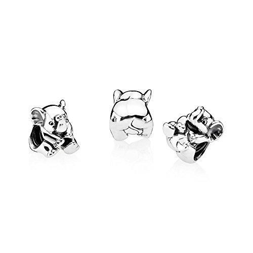 Pandora Women's 791902 Lucky Elephant Charm, Silver by PANDORA (Image #1)