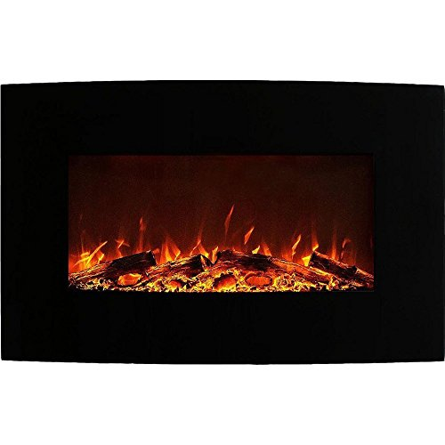 electric fireplace wall mountable - 9