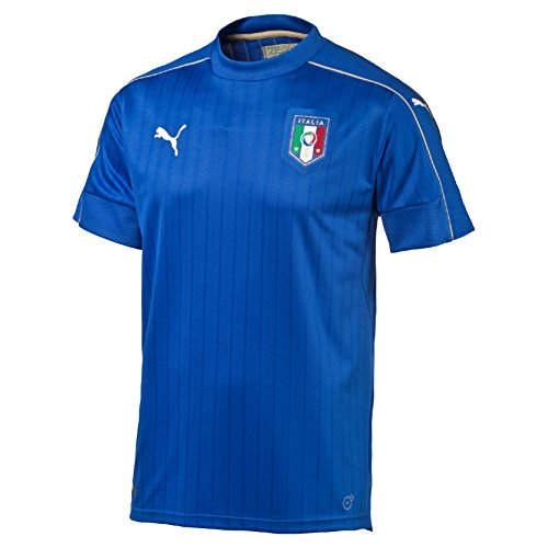 PUMA Herren Trikot FIGC Italia Home Shirt Replica, team power blue-white, L, 748933 01