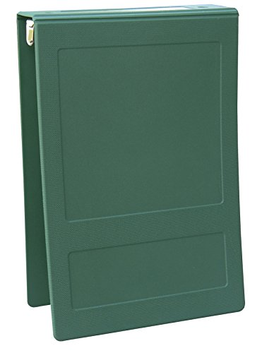 OMNIMED 205008-FG2 Top Open Molded Binder 2'' - 2 Ring - Forest Green -