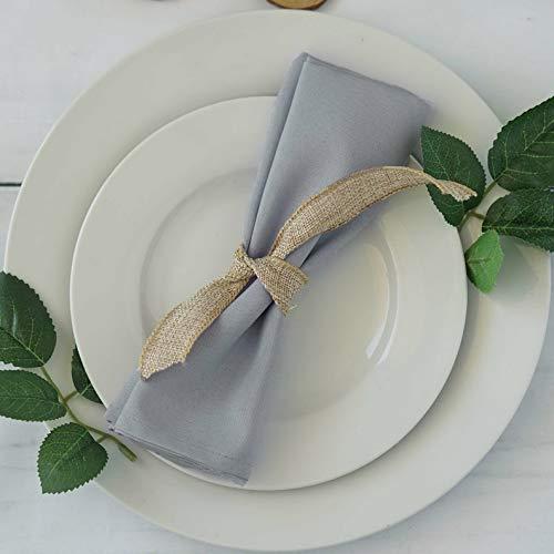 Lodge Napkin - Mikash 20 Polyester Fabric Napkins Wedding Party Dinner Kitchen Table Decorations | Model WDDNGDCRTN - 5202 | 300 pcs