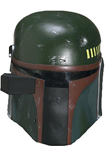 Star Wars Boba Fett Costume Helmet, Black, One Size -