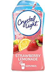 Crystal Light Liquid Strawberry Lemonade Drink Mix (1.62 oz Bottles, Pack of 12)
