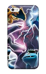 Excellent Design Pokemon Case Cover For Iphone 5/5s(3D PC Soft Case)