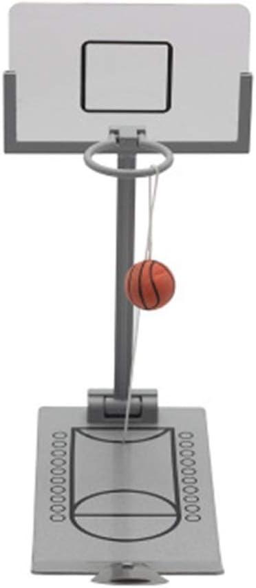 ASDFGG-toy Mesa de Billar Plegable Juego de Mesa de Baloncesto en Miniatura, Juguete de Mesa de Mini Juego de Mesa Plegable de Baloncesto portátil para niños (Color : One Color, tamaño :