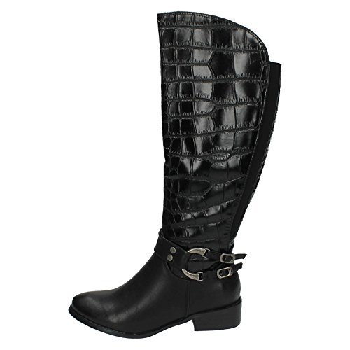 Womens High Coco Boots Black Knee vUSd1qxwn4