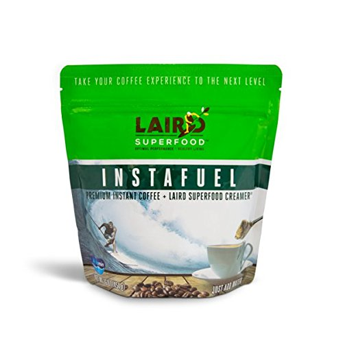 Laird Superfood Instafuel Premium Instant Coffee Plus Creamer - 1 lb