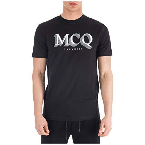 McQ Alexander McQueen Men t-Shirt Paradise Nero L
