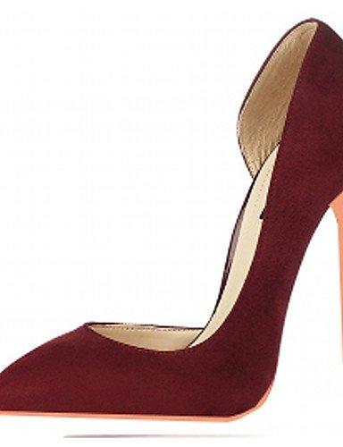 Bordeaux Habillé Rouge Cn46 Gris Eu44 Uk10 Evénement noir Ggx Décontracté talon Chaussures amp; us12 Aiguille Red Travail mariage Soirée Bureau Femme wxxRfnOqA
