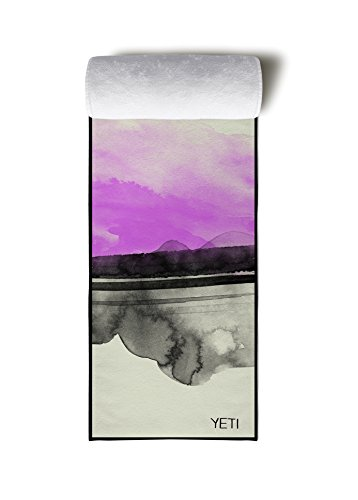 YETI YOGA - The Spruce Yoga Towel, Lightweight Slip-Free Yoga Mat Towel, 100% Microfiber