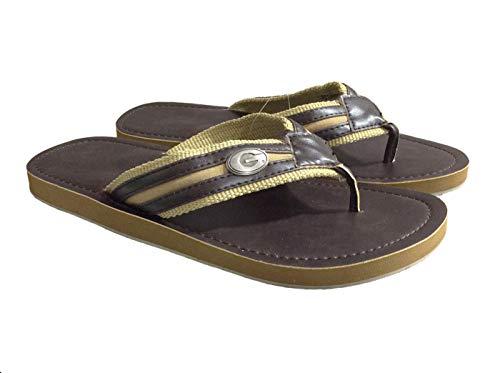 - NCAA Georgia Bulldogs Brown Concho Sandal-Size 8