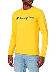 Champion herr Legacy Classic Logo Crewneck Pullover-tröja