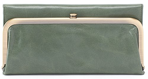 (Hobo Womens Rachel Vintage Wallet Leather Clutch Purse (Moss))