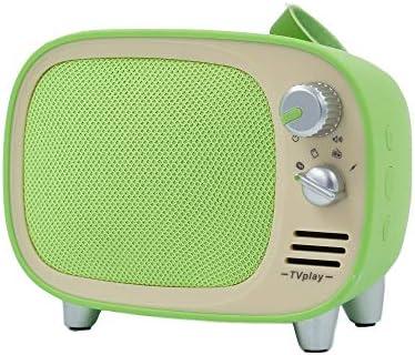 TV1 Multi Function Mini Retro Bluetooth Speaker-Green