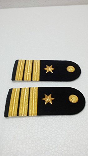 Atlantic Maritime-Marine RVN Navy -Officer Hard Shoulder Board New Pair (two pieces) from Atlantic