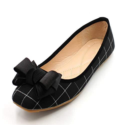 cómodos Mujeres Zapatos Baja Solo de Embarazadas Las Boca Trabajo Europea Zapatos Moda 40 Zapatos de UE EU 35 Planos Dulce Boca Zapatos FLYRCX n8Uq7wpx4