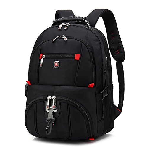Laptop Backpack,Travel Backpack for College Back to School Bookbags,Backpack for Men Women,Fits Most 15 Inch Laptops and Tablets (M58_Black)