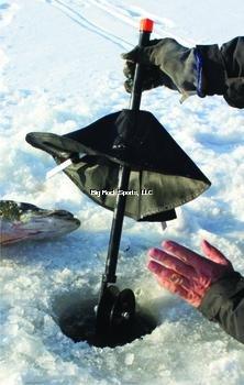 HT Enterprise PPM-1500 Polar Pop Up Magnum Tip Up 1500-Feet Spool, Black