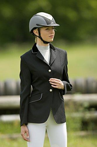Giacca gris thème noir Concorso doublure col velours Signore di equi noir TqrHwT6v