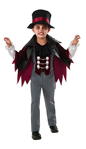 Rubie's Costume Little Vampire Value Child Costume, Medium (Goth Halloween Costumes For Kids)