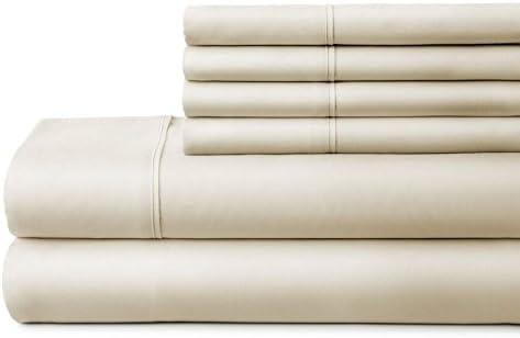 TWINXL ienjoy Home 6 Piece Home Collection Premium Ultra Soft Bed Sheet Set Twin XL Aqua